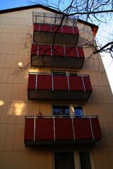 Balkon- und Fassadensanierung eines Mehrparteienhauses, Nürnberg